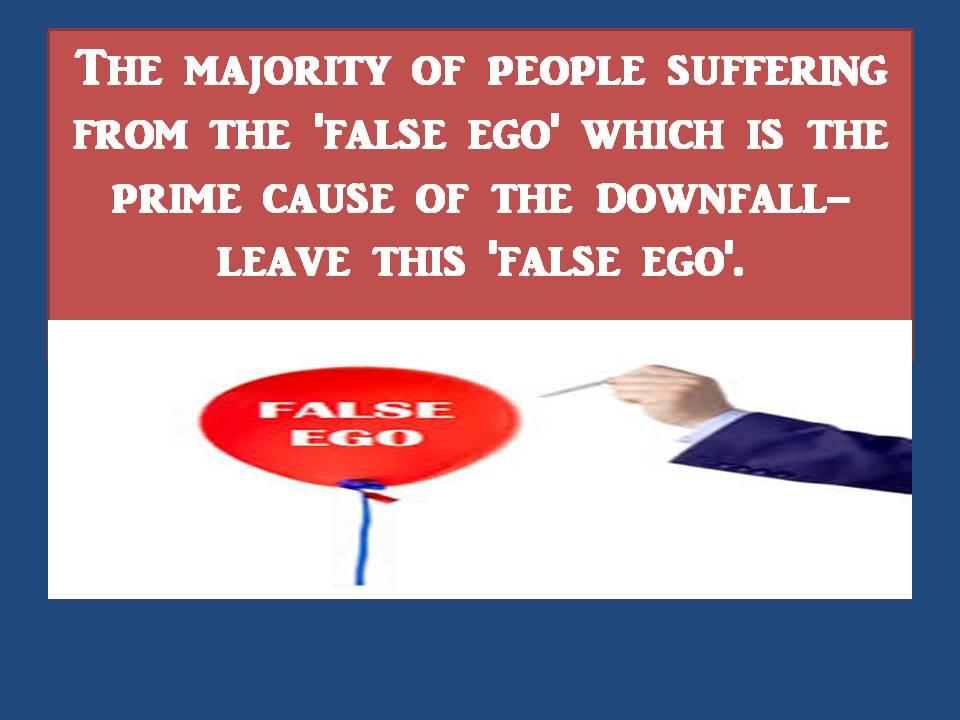 false ego