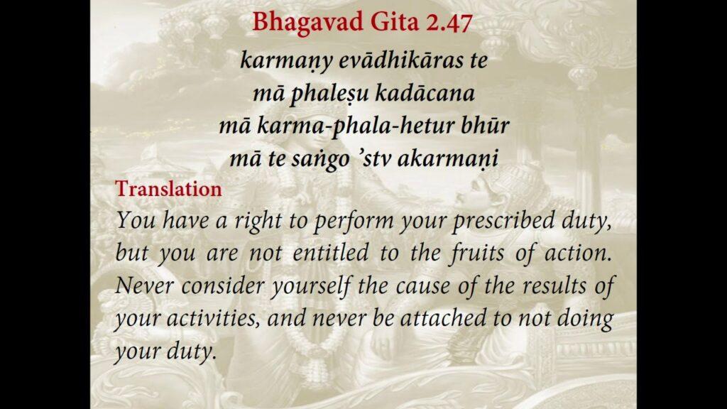 LORD KRISHNA ABOUT KARMA YOGA/KARMA YOGA IN BHAGAVAD GITA