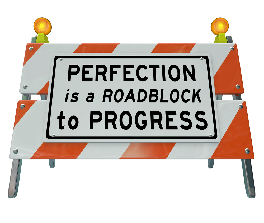 leave perfectionism