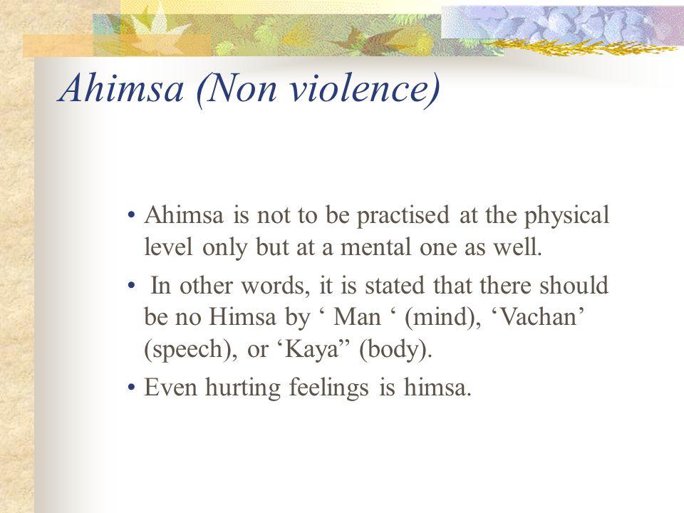 what is ahimsa