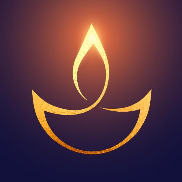 Tamso Ma Jyotirgamaya symbol