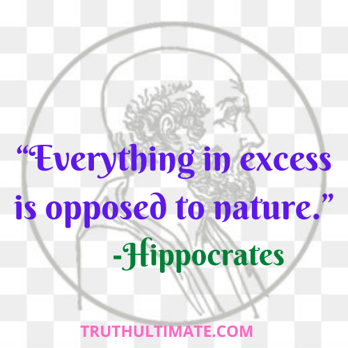 Ati Sarvatra Varjayet| Excess of Everything is bad Quotes