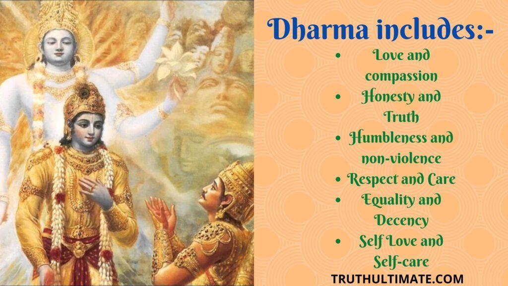 Dharmo Rakshati Rakshitah meaning
