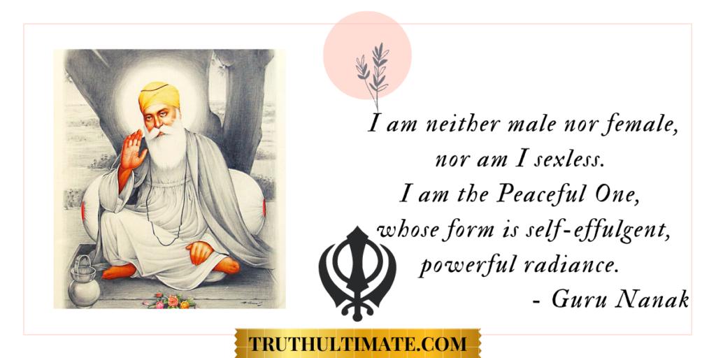 Guru Nanak quotes for Better Life