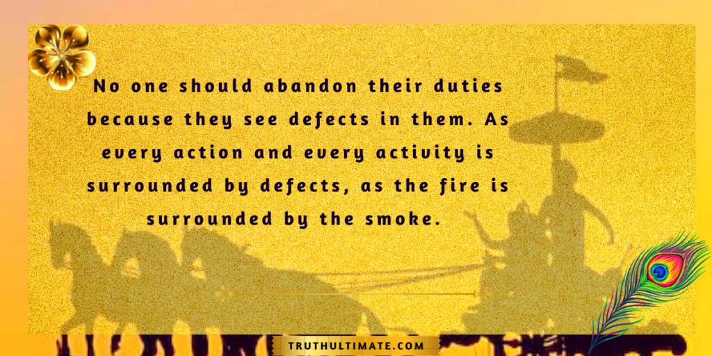 Bhagavad Gita Quotes for Better Life
